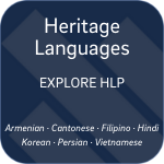 Explore Heritage Languages select button