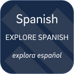 Explore Spanish select button